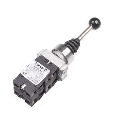 1Pcs SPST 4 N.O. NO 4 Position Momentary Type Monolever Joystick Switch PA24
