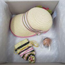 American Girl Caroline's Meet Accessories Doll Bonnet Hat Top Abbott Beforever