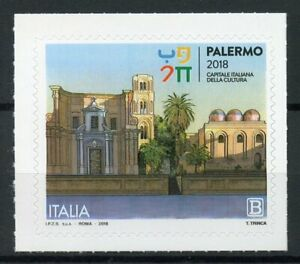 Italy Stamps 2018 MNH Palermo Italian Capital of Culture Architecture 1v S/A Set