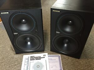 Mackie HR824 mk1 monitor speakers - lovely condition
