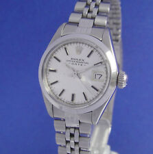 ROLEX OYSTER PERPETUAL DATE LADY STAHL STAHLBAND 6916