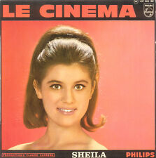 SHEILA Le Cinema FR Press Philips 437 205 Mono EP