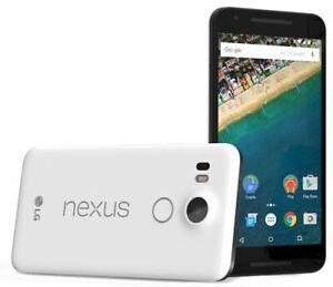 Excellent Condition LG Google Nexus 5X White 32GB Unlocked 4G LTE Smartphone