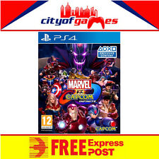 Marvel vs. Capcom Infinite PS4 Game New & Sealed Free Express Post In Stock Now