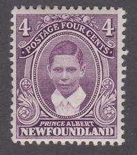 Newfoundland 1911 #107 Royal Family Issue (Prince Albert) VF MVLH