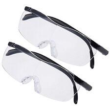 2pc Pro Big Vision Magnifying Presbyopic Glasses Seen On TV 160% Eyewear Reading