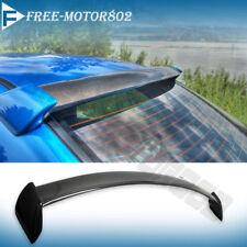 For 02-07 Subaru Impreza WRX STI Rear Roof Spoiler Wings Carbon Fiber FRP Sides