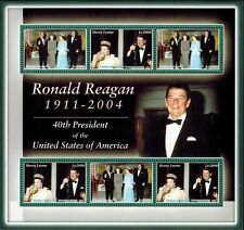 MODERN GEMS - Sierra Leone - Ronald Reagan 40th President - Sheet of 6 - MNH