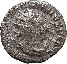 Valerian I 253AD Rare Silver Ancient Roman Coin Felicitas Good luck Cult  i46893