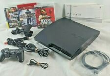 Sony PS3 CECH-2001A slim console 111GB ~ 1 Sony controller, 3 games, Extras...