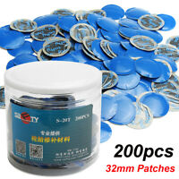 200PCS 32mm Car Rubber Wired Tyre Puncture Repair Mushroom Plug Patch KI