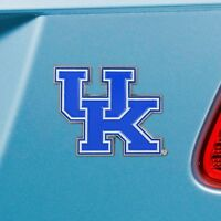 Kentucky Wildcats Heavy Duty Metal 3-D Color Auto Emblem
