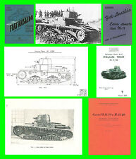 COLLECTION - CARRO ARMATO FIAT ANSALDO M11-39 ARMOURED TANK Manual - DVD