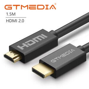 Cable HDMI 1.5m metro de largo de alta velocidad v2.0 HD 4K 3D arco para PS3 PS4