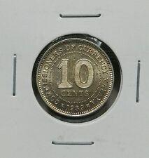 1939 - MALAYA KING GEORGE VI  10CENTS (AU)