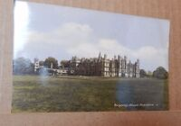 Postcard  Burghley House Stamford Lincolnshire posted 1954