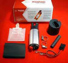 255LPH High Pressure & High Flow Fuel Pump + Install Kit  Fits Honda Hyundai
