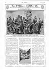 1914 Russian Campaign Galicia Cavalry Regiment
