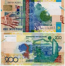 Kasachstan Geldschein 200 Tenge 2006 P28 unc neu