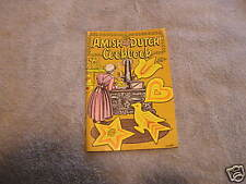 Amish Dutch Cookbook 1973 Ruth Redcay