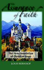NEW The Assurance of Faith by Louis Berkhof