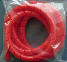 "2 Feet of 3/8"" Spiral Wrap Tubing Available in 8 Colors (Black Orange White etc)"