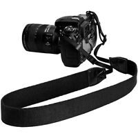 Black DSLR SLR Camera Shoulder Strap Neck Sling Belt For Canon Nikon Sony Fuji