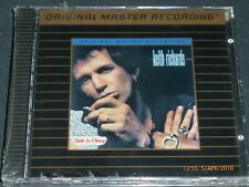 KEITH RICHARDS - Talk Is Cheap - MFSL. Gold CD. Neu & OVP.