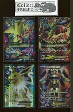 Mega Powers Collection Lucario Manactric Jolteon Zygarde Ex Full Art AI Pokemon