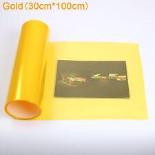 30x100cm Gloss Car  Headlight Fog Taillight Wrap Tint Vinyl Film Sticker Decal
