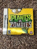 PLANTS VS. ZOMBIES  (NINTENDO DS) - BRAND NEW FACTORY SEALED  - Free shipping
