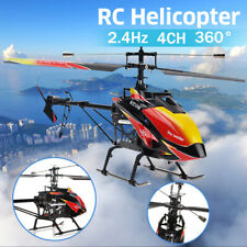 """Wltoys 27"""" 4 Channel Large RC Helicopter 2.4G  Remote Control Single Blade US"""