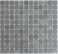 """40 pieces-Gris LOOSE 1/"""" Square panachées en Céramique Mosaïque"""