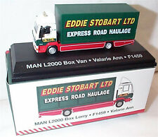 EDDIE STOBART MAN L2000 BOX LORRY F1459 VALARIE ANN 1:76 New Boxed