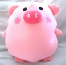 "Snow Foam Micro Beads 12""-14"" Full Size Pig pink Cushion Pillow-Brand New!"