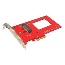 Addonics AD25NVMPX4 2.5in Nvme U.2 Pcie 3.0/2.0 4x Int Adapter