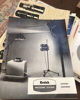 Vintage Kodak Photographic Spotlight Lighting Camera Advertising Catalogue Light