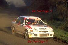 Kenneth Eriksson Mitsubishi Lancer Evo II Nueva Zelanda Rally 1994 fotografía 8