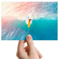 """Photograph 6x4""""  - Surfing the Waves Surf Surfer Sea Ocean  #46343"""
