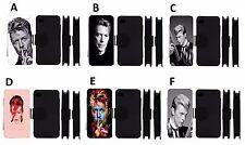 David Bowie-Flip Case-iPhone 5/5s/5c/6/6 +/7/7 +/8/8+// XR/Max X