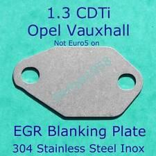 EGR blanking blank plate Vauxhall  Opel 1.3 CDTi Corsa Astra Meriva Combo Agila