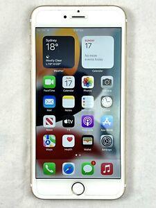 Apple iPhone 6S Plus 128GB Gold unlocked + Bellroy 3-card case + screenprotector