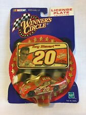 2000 Winner's Circle Tony Stewart License Plate Collection - 1/64th Scale Item