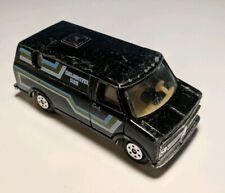 Vintage Black YATMING Delightful Van #899 1/64 Diecast Chevrolet Vandura Chevy
