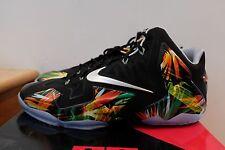 Nike Air Lebron XI Black Everglades size 14