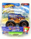 Hot Wheels Monster Trucks - Hot Wheels Delivery - With Crushable Car - Brand New