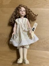 """Beautiful """"Dawn"""" Dianna Effort Reproduction All Porcelain Doll By Betty Vegas"""