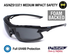 UV Wraps Foam Backed AS/NZ1337 Safety Sunglasses PO8256