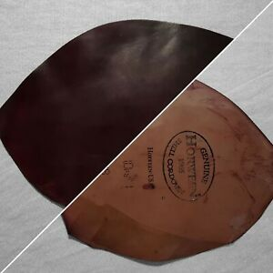 Horween Shell Cordovan (CHIPS) - Burgundy #8 - 1.6/2.0mm (4.0/5.0oz)