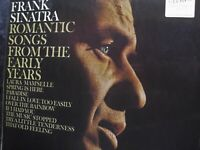 Frank Sinatra Romantic Songs The Early Years  Vinyl Record Album  Excellent cond